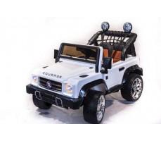 Электромобиль TOYLAND Джип MB DK-F008 White