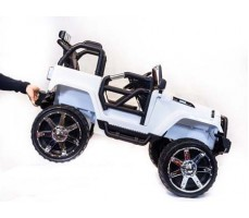 фото Электромобиль TOYLAND Jeep SH 888 White