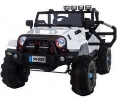Электромобиль TOYLAND Jeep SH 888 White