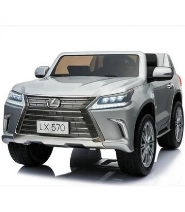 Детский электромобиль Toyland Lexus LX570 Silver   Купить, цена, отзывы