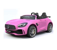 Детский электромобиль Toyland Mercedes-Benz GTR HL289 Pink