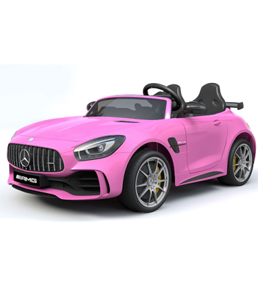 Детский электромобиль Toyland Mercedes-Benz GTR HL289 Pink | Купить, цена, отзывы
