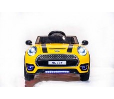 фото Электромобиль TOYLAND Mini Cooper HL198 Yellow