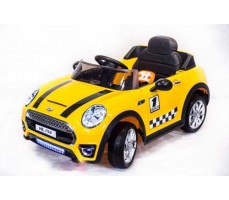 Электромобиль TOYLAND Mini Cooper HL198 Yellow