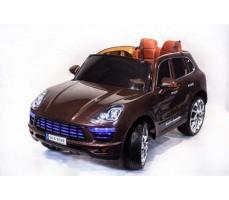 Электромобиль TOYLAND Porsche Macan QLS 8588 Brown