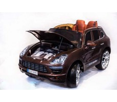 фото Электромобиль TOYLAND Porsche Macan QLS 8588 Brown