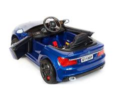 фото Детский электромобиль Toyland BMW 5 G1188 Blue сзади