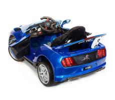 фото Детский электромобиль Toyland Ford Mustang RT560 Blue сзади