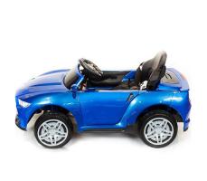 фото Детский электромобиль Toyland Ford Mustang RT560 Blue сбоку