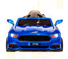 фото Детский электромобиль Toyland Ford Mustang RT560 Blue спереди