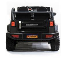 фото Детский электромобиль Toyland Jeep CH 9938 Black сзади