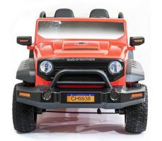 фото Детский электромобиль Toyland Jeep CH 9938 спереди