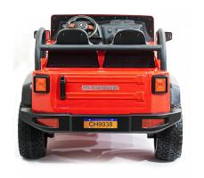 фото Детский электромобиль Toyland Jeep CH 9938 сзади