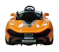 фото Детский электромобиль Toyland Maclaren 672 R Orange сзади