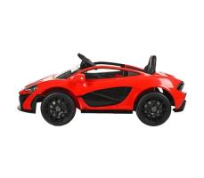 фото Детский электромобиль Toyland Maclaren 672 R Red сбоку