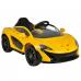 фото Детский электромобиль Toyland Maclaren 672 R Yellow общий вид