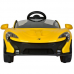 фото Детский электромобиль Toyland Maclaren 672 R Yellow спереди