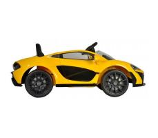 фото Детский электромобиль Toyland Maclaren 672 R Yellow сзади