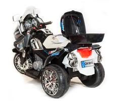 фото Детский электромотоцикл Toyland Moto Police СН8815 сзади