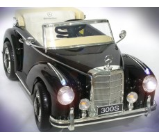 Электромобиль Mercedes-Benz 300S Black
