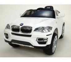 Электромобиль RIVERTOYS BMW-X6 White