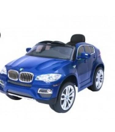 Электромобиль RIVERTOYS BMW-X6 Blue | Купить, цена, отзывы