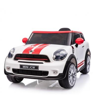 Электромобиль RIVERTOYS Minicooper JJ2258 White| Купить, цена, отзывы