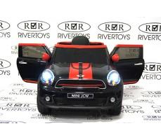 Электромобиль RIVERTOYS Minicooper JJ2258 Black