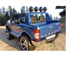 Электромобиль FORD RANGER Blue вид с боку