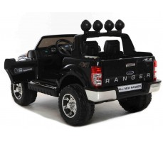Электромобиль FORD RANGER Black вид сзади