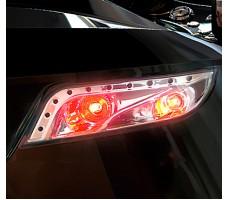 Фото задних светодиодных фар электромобиля HENES Phantom Premium Black