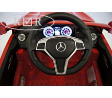 Фото руля электромобиля Mercedes-Benz CLA45 A777AA Red