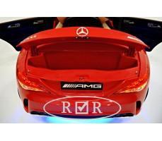 Фото электромобиля Mercedes-Benz CLA45 A777AA Red с открытым багажником