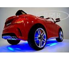 Фото подсветки и дисков электромобиля Mercedes-Benz CLA45 A777AA Red