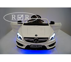 Фото электромобиля Mercedes-Benz CLA45 A777AA White вид сверху