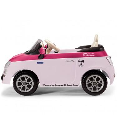 Электромобиль Peg-Perego Peg-Perego Fiat 500 розовый | Купить, цена, отзывы