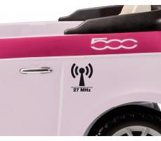 Фото двери электромобиля Peg-Perego Peg-Perego Fiat 500 Pink