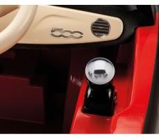 Фото рычага переключения скоростей электромобиля Peg-Perego Peg-Perego Fiat 500 Red