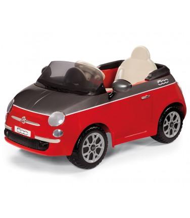 Электромобиль Peg-Perego Peg-Perego Fiat 500 красный с ручным управлением | Купить, цена, отзывы