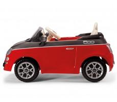 Фото электромобиля Peg-Perego Peg-Perego Fiat 500 Red вид сбоку