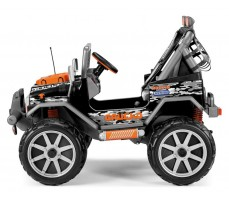 Фото электромобиля Peg-Perego Gaucho Rock`in new 2014 Red вид сбоку
