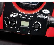 Фото приборной панели электромобиля Peg-Perego Polaris Ranger RZR Red