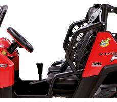 Фото кабины электромобиля Peg-Perego Polaris Ranger RZR Red
