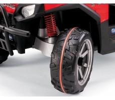 Фото колеса электромобиля Peg-Perego Polaris Ranger RZR Red