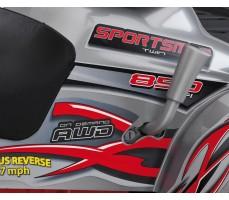 Фото рычага переключения скоростей электроквадроцикла Peg-Perego Polaris Sportsman 850 Red