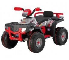 Фото электроквадроцикла Peg-Perego Polaris Sportsman 850 Red вид спереди