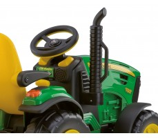 Фото руля электромобиля Peg-Perego John Deere Ground Force Green