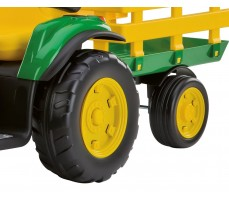 Фото колес электромобиля Peg-Perego John Deere Ground Force Green