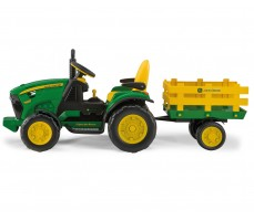 Фото электромобиля Peg-Perego John Deere Ground Force Green вид сбоку