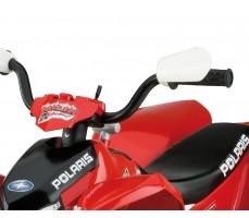 Фото руля электроквадроцикла Peg-Perego Polaris Outlaw Red